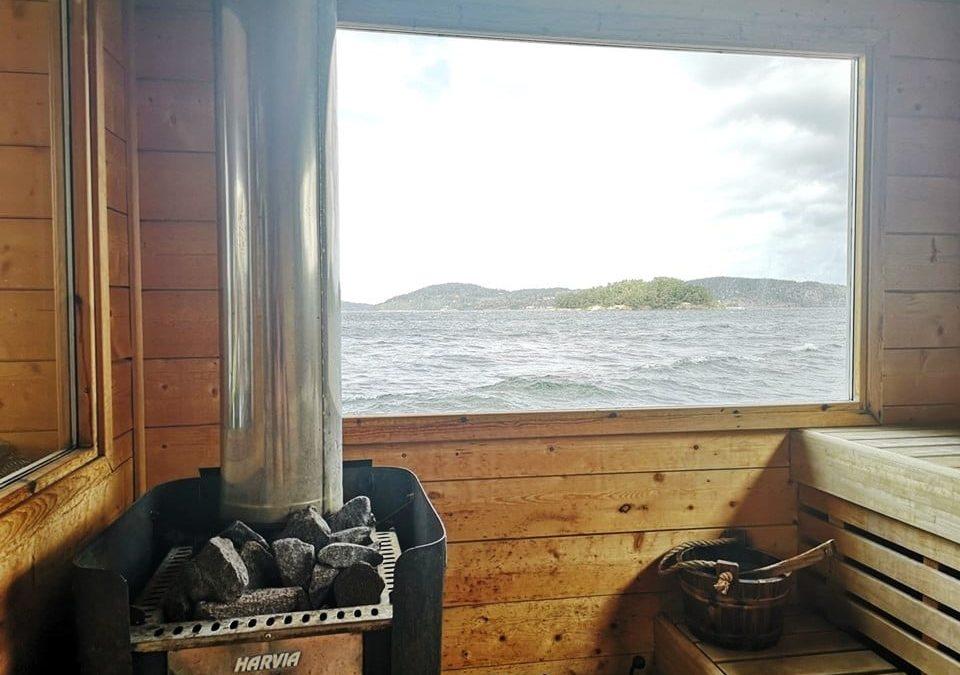 …vill uppföra ett kallbadhus med en bastu i Uddevalla…